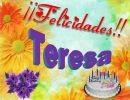 Felicidades Teresa !!