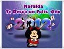 Mafalda Les Desea Un Felíz Año Nuevo