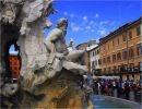 Fuentes y palacios de Roma