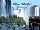 "Bellezas naturales ""Cataratas"""