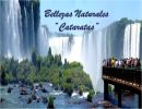 Bellezas naturales «Cataratas»