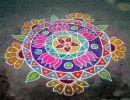 Arte Indio Rangoli