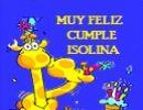 ¡Feliz Cumple Isolina!