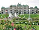 El Palacio Belvedere en Viena