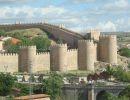 A monumental cidade de Ávila
