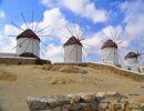 Relato de un viaje: Mykonos la isla de los molinos