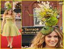 Sombreros con flores