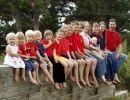 Homenaje a las familias numerosas