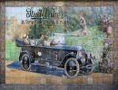Azulejos antiguos en Sevilla,España
