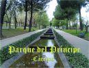 El Parque del Príncipe de Cáceres