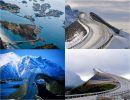 La carretera atlántica de Noruega