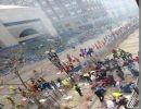 Boston explosión en el marathon