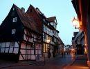 La ciudad de Quedlinburg en Alemania