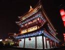 China. Pekín de noche