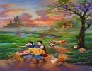 Pintura Disney de Jim Warren