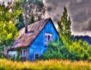 Solitarias casas