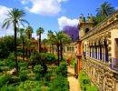 Alcazar Garden Spain