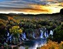 Kravica Waterfalls Bosnia and Herzegovina