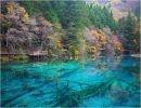 El valle de los lagos en  turquesa