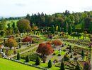 Drummond castle garden Scotland