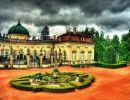 Buchlovice Castle Garden Czech Republic