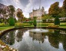Dunrobin Castle Garden Scotland