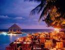 La Noche en las Islas Maldivas