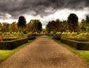 Elvaston castle garden England