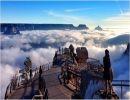 El Gran Cañon cubierto de nubes