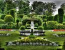 Brodsworth hall garden England