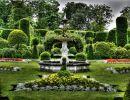 Brodsworth hall garden England