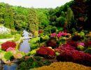 Alton Towers gardens England