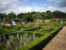 Doddington hall gardens England
