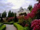 Aberglasney house gardens Wales