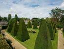 Athelhampton house gardens England