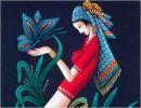 Pinturas y mujeres chinas