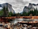 Yosemite  National Park. Yosemite Valley USA