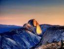 Yosemite national park.Half Dome USA