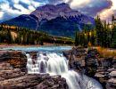 Athabasca river Canada