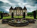 Chateau de cormatin gardens France