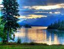 Lake clark national park USA