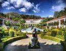 Getty villa gardens USA