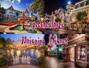 Espectaculares paisajes Disney