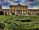 Jardim do palacio nacional de queluz Portugal