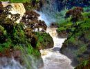 Blue njile falls Ethiopia
