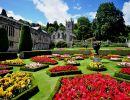 Lanhydrock house garden England