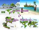 La vuelta al Mundo en Tazón, Balón Mochila, ect