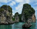 Phang nga bay national park Thailand