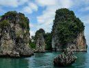 Phang nga bay national park Thailand