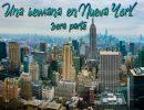 Una semana en Nueva York 3era parte